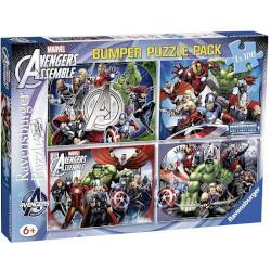 Puzzle Ravensburger - Avengers - 4x100 Bumper Pack