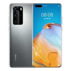 Image of Smartphone P40 Pro 5G Silver Frost 256 GB Dual Sim Fotocamera 50 MP