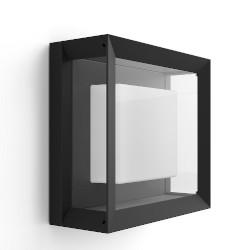 Lampada Philips - Hue White&Color Econic, Lampada da parete/soffitto smart esterni