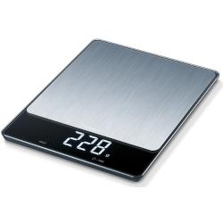 Bilancia da cucina Beurer - KS 34 XL Max 15 kg Funzione Tara Nero, Acciaio Inossidabile