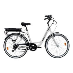 Bicicletta Momo Design - Venezia 25 km/h Autonomia 45Km Ruote 26'' BIANCO