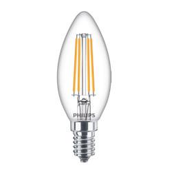 Lampadina LED Philips - Candela Luce Fredda 4000°K 6,5W E14