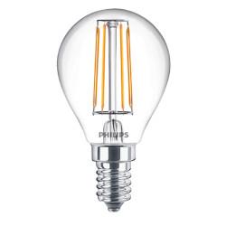 Lampadina LED Philips - Oliva Filamento Luce Fredda 4000°K 4,3W E14