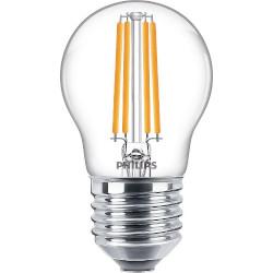 Lampadina LED Philips - Sfera Filament Luce Calda 2700°K 6,5W E27