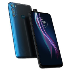 Smartphone Motorola - One Fusion+ Twilight Blue 128 GB Single Sim Fotocamera 64 MP