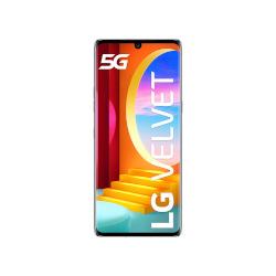 Smartphone LG - Velvet Aurora Gray 128 GB Single Sim Fotocamera 48 MP