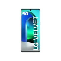 Smartphone LG - Velvet Aurora Green 128 GB Single Sim Fotocamera 48 MP