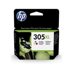 Cartuccia HP - 305xl - alta resa - colore (ciano, magenta, giallo) - originale 3ym63ae#301