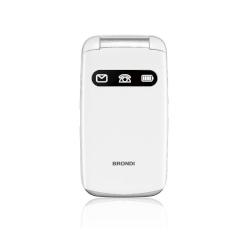 Telefono cellulare Brondi - Amico Favoloso Bianco