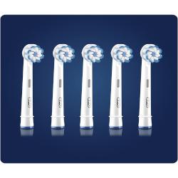 Testina di ricambio Oral B Sensitive Clean 5 Pezzi