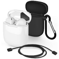Auricolari con microfono Meliconi - MySound Safe Pods 5.1 con Cover Nera 497482