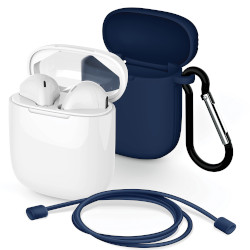 Auricolari con microfono Meliconi - My Sound Safe Pods 5.1 con Cover Blu 497483