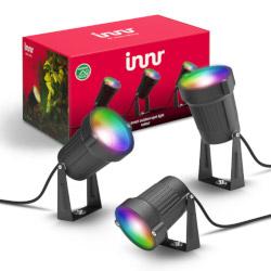 Lampada Innr Lighting - Faretto Smart per Esterni 3x