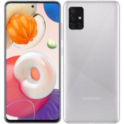 Smartphone Samsung - Galaxy A51 Metallic Silver 128 GB Dual Sim Fotocamera 48 MP