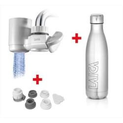 Sistema filtrante Laica - Kit rubinetto Venezia RK50A01 con Borraccia