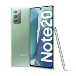 Smartphone Samsung - Galaxy Note 20 Mystic Green 256 GB Dual Sim Fotocamera 64 MP