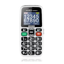 Telefono cellulare Brondi - Amico Unico Bianco