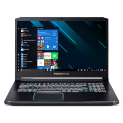 "Notebook Acer - Predator helios 300 ph317-54-78xw - 17.3"" - core i7 10750h nh.q9wet.001"