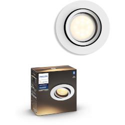 Lampadina LED Philips - Faretto da incasso Milliskin, estensione Bianco