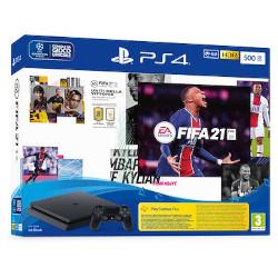 Console PS4 Black 500GB + FIFA 21