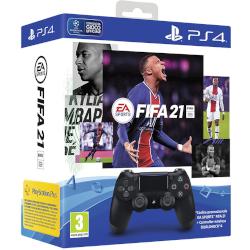 Controller Sony - DualShock 4 V2 + FIFA 21