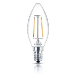 Lampadina LED Philips - DecoLED Oliva 2,5 W Bianco Caldo 15000h 250 Lumen