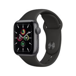 Smartwatch Apple - Watch Series 6 GPS 44mm alluminio grigio siderale con cinturino Sport nero