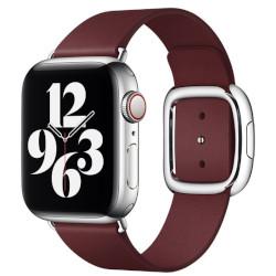Apple - Cinturino in cuoio 40mm Modern Buckle marrone