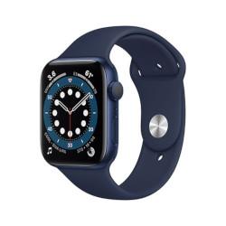 Smartwatch Apple - Watch Series 6 GPS 44mm alluminio azzurro con cinturino Sport deep navy