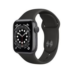 Smartwatch Apple - Watch Series 6 GPS 40mm alluminio grigio siderale con cinturino sport nero