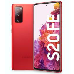 Smartphone Samsung - Galaxy S20 FE Cloud Red 128 GB Single Sim Fotocamera 32 MP