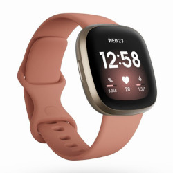 Smartwatch Fitbit - Versa 3 Rosa