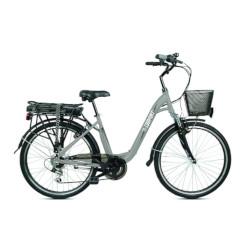 Bicicletta BEBIKE - Be Comfort 25 km/h Autonomia 45 km - Colore Grigio
