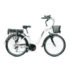 Bicicletta BEBIKE - Be Comfort - 25 km/h - Autonomia 45Km - Bianco