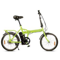 Bicicletta elettrica Smartway - F2-L1S6-V 25 km/h Autonomia 22 Km - Verde