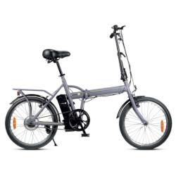 Bicicletta Smartway - F2-L1S6-G 25Km/h - Autonomia 22 Km - Grigio