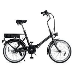 """Bicicletta Smartway - F3-L1S6-K - Ruote 20"""" - Velocità massima 23 km/h - Autonomia 22 km - Nero"""