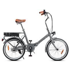 """Bicicletta Smartway - F3-L1S6-G - Ruote 20"""" - Velocità massima 23 km/h - Autonomia 22 km - Grigio"""