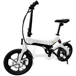 Bicicletta elettrica BIT BIKE - S6 Ruote 16'' Motore 250W 25 km/h Bianco