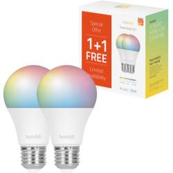 Lampadina LED HOMBLI - Smart Bulb 9W 1+1 CCT E27 RGB