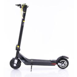 Monopattino elettrico LEXGO - S8 LIGHT-UP Velocità max 25 km/h Ruote 8'' - Nero