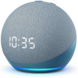 Smart speaker ALEXA - Amazon Echo Dot (4th gen) con orologio