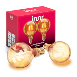 Lampadina LED Innr Lighting - E27 FILAMENT BULB VINTAGE G95 - Globo - 2 pezzi - RF 261-2