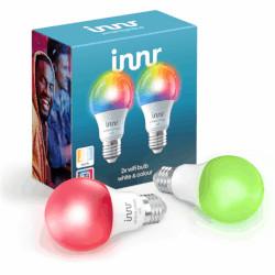 Lampadina LED Innr Lighting - WI-FI BULB E27 COLOUR 806 Lumen - 2pz