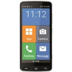 Smartphone Saiet - Smart Senior STS502 + Cover Nero 8 GB Dual Sim Fotocamera 8 MP