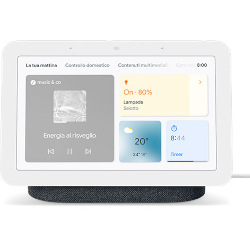 Smart speaker GOOGLE - Google Nest Hub (2 generazione) Antracite