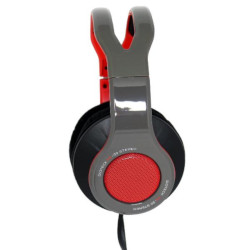 Cuffie Gaming TX30 Gaming Headset USB Over Ear per Nintendo Switch Grigio e Rosso