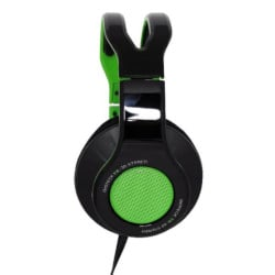 Cuffie Gaming TX30 Gaming Headset USB Over Ear Nero e Verde