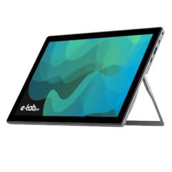 Tablet Microtech - e-tab Pro 4 10.1? RAM 4GB 64 GB Windows 10 Pro - Argento e nero