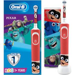 Spazzolino elettrico Braun - Oral-B Kids Disney Pixar con Custodia da Viaggio